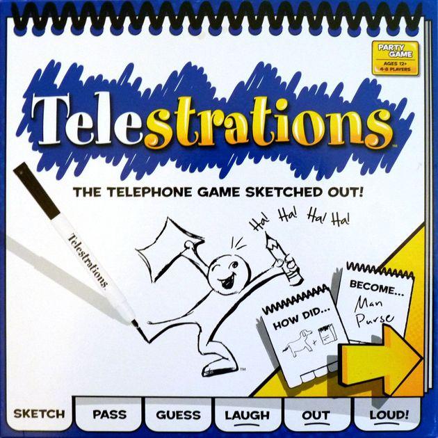 Telestrations Board Game Boardgamegeek