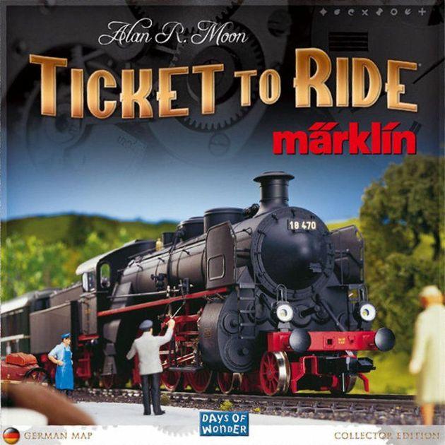Ticket To Ride Mrklin Board Game Boardgamegeek