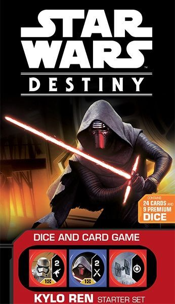 NEW Star Wars Destiny 2 Player Dice /& Card Game Starter Set Free Shipping!