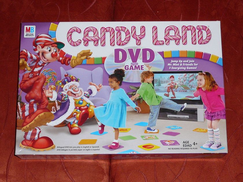 Candy Land Dvd Game Review Candy Land Dvd Game Boardgamegeek