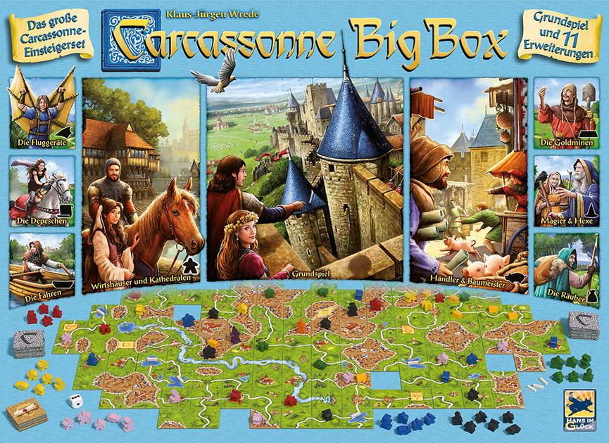 Carcassonne Big Box 6 Board Game Boardgamegeek