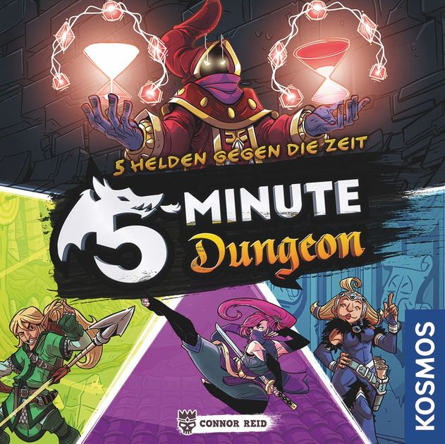 Moes Game Table Preview 5 Minute Dungeon 5 Minute Dungeon Boardgamegeek