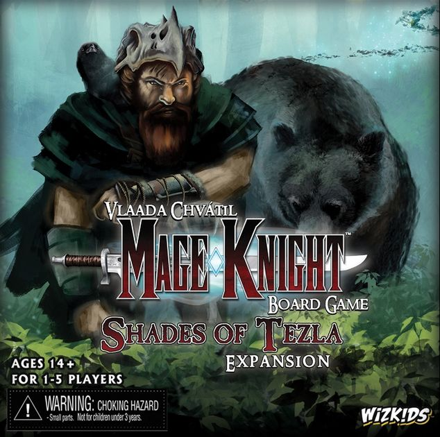 Shades of Tezla by WizKids 2015 version Mage Knight