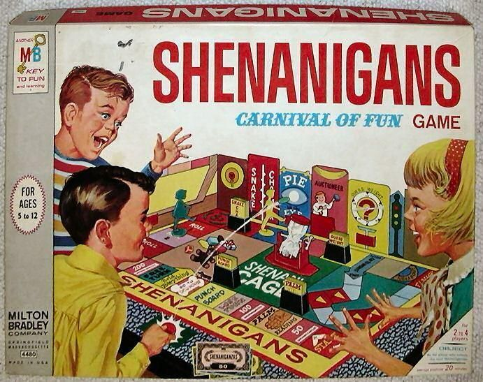 shenanigans game board game boardgamegeek. Black Bedroom Furniture Sets. Home Design Ideas