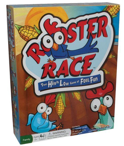 Rooster Race | Board Game | BoardGameGeek