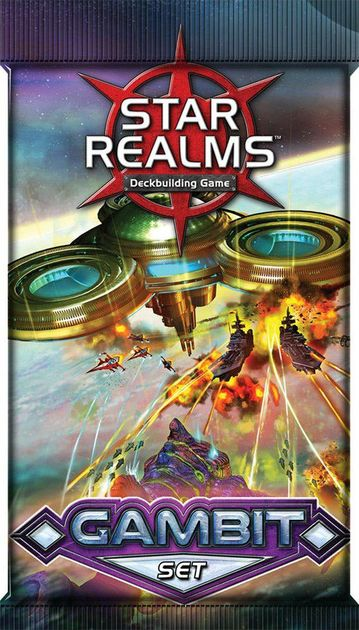 """expansion for Star Realms Deck-building Game White Wizard Games /""""Gambit/"""" Set"""