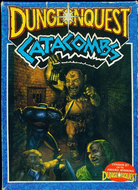 Dungeonquest Catacombs Board Game Boardgamegeek