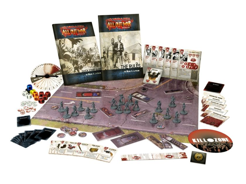 Not your typical Zombie linear equation - A solo-play review   The