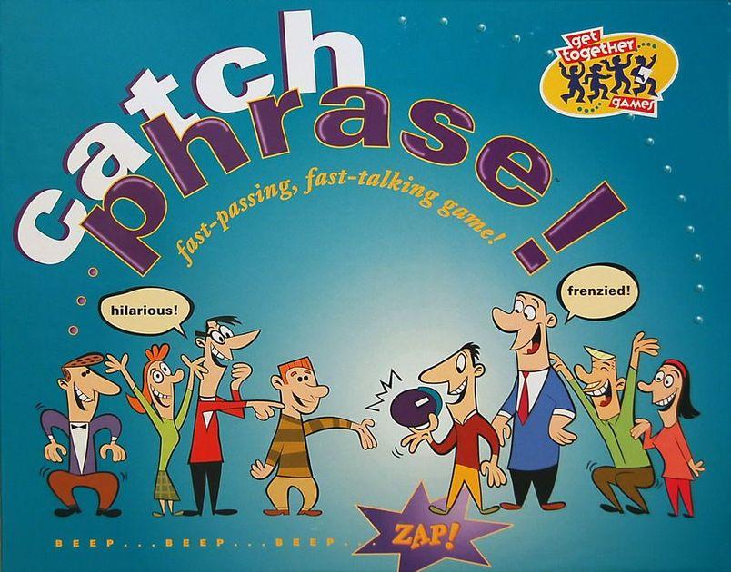 Catch Phrase Board Game Boardgamegeek