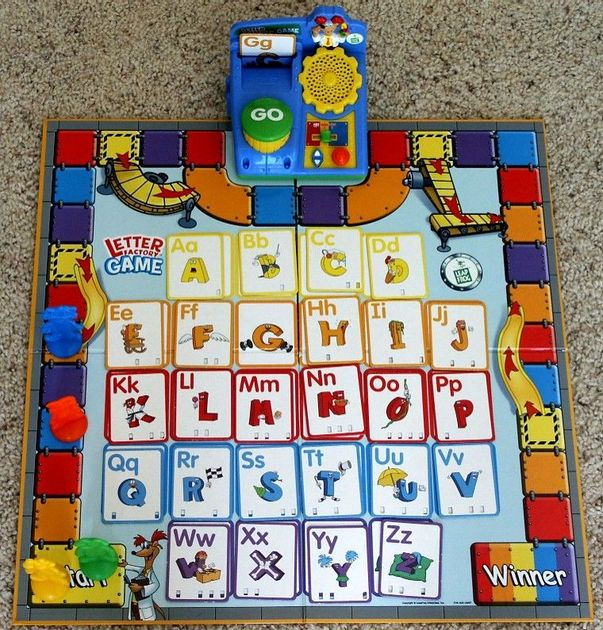 Letter Factory Game | Board Game | BoardGameGeek