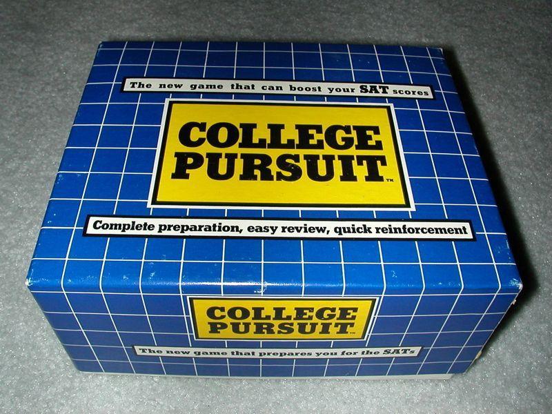 College Pursuit | Board Game | BoardGameGeek