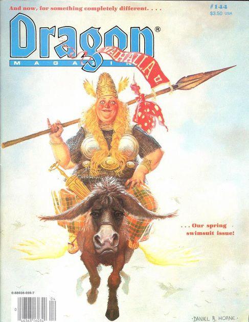 Dragon (Issue 144 - Apr 1989) | Issue | RPGGeek