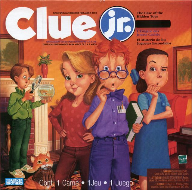 Clue Jr The Case Of The Hidden Toys Board Game Boardgamegeek