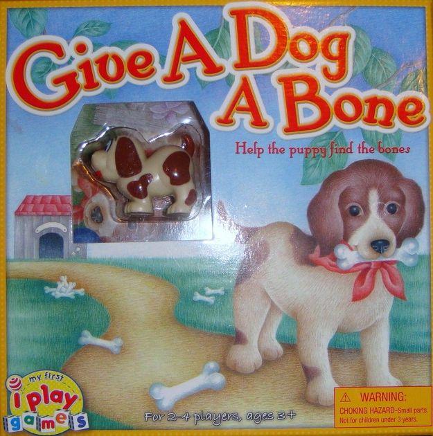 Give A Dog A Bone Board Game Boardgamegeek