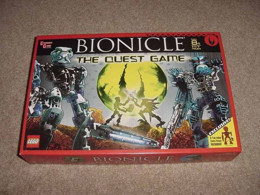 Lego Bionicle The Quest Game Board Game Boardgamegeek