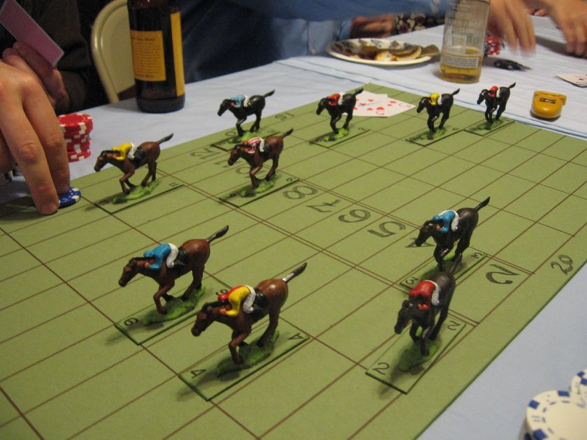 English Rules Wooden Horse Races Game BoardGameGeek New Wooden Horse Racing Game