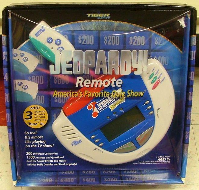 Jeopardy! Remote   Board Game   BoardGameGeek