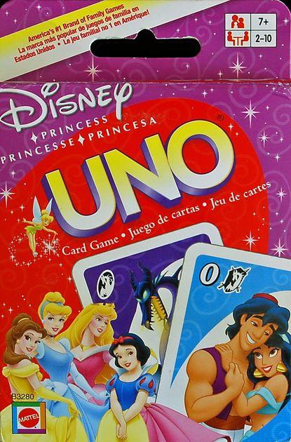 Amazon. Com: disney princess cinderella uno game in tin card game.