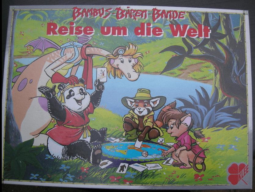 Bambus Baren Bande Reise Um Die Welt Board Game Boardgamegeek