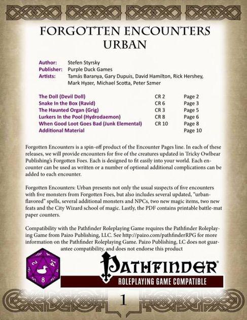 Pathfinder Wizard Feats