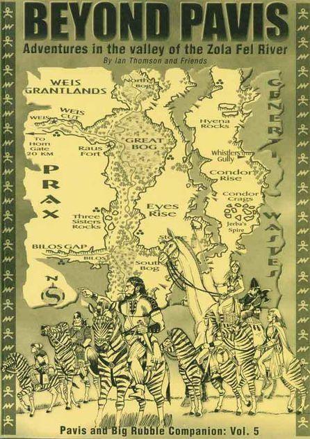 Pavis and Big Rubble Companion Vol 5: Beyond Pavis | RPG