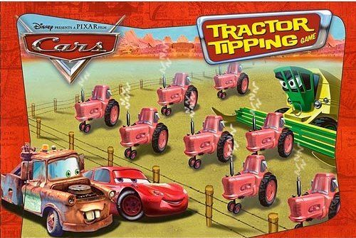 Cars Tractor Tipping Game Board Game Boardgamegeek
