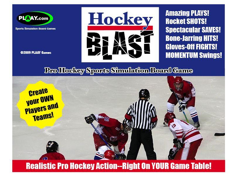 Hockey Blast Pro Game