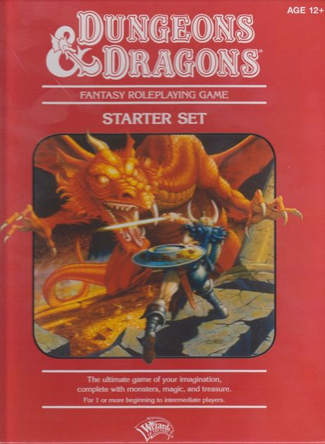 Dungeons dragons starter set rpg item rpggeek fandeluxe Choice Image