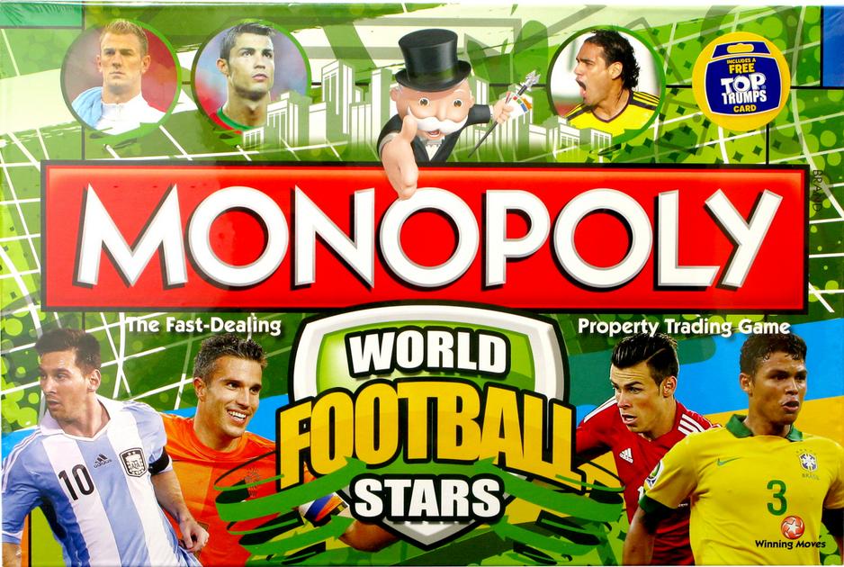 2adb00e3945b Monopoly  World Football Stars   Board Game   BoardGameGeek