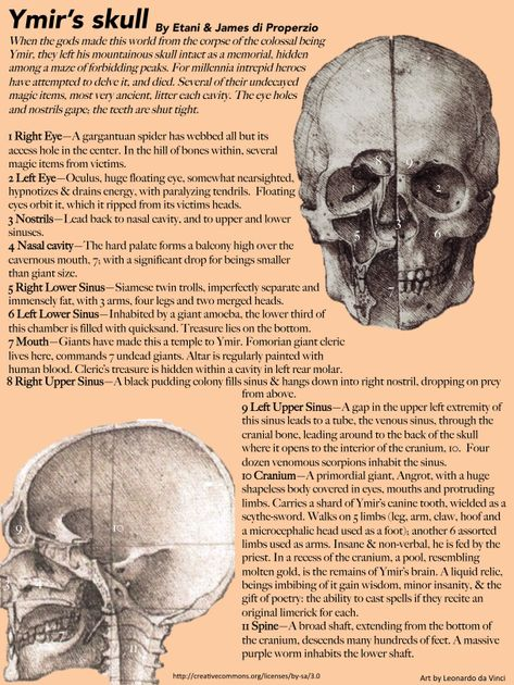 Ymir's Skull   RPG Item   RPGGeek