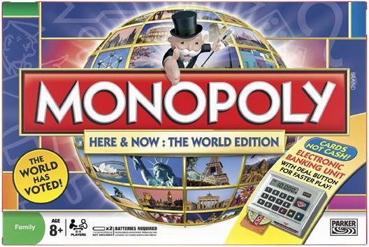 Monopoly here and now monopoly: here & now - world edition the.