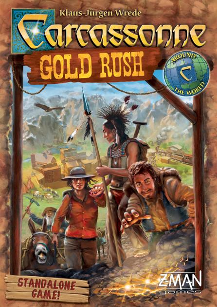 Carcassonne: Gold Rush   Board Game   BoardGameGeek