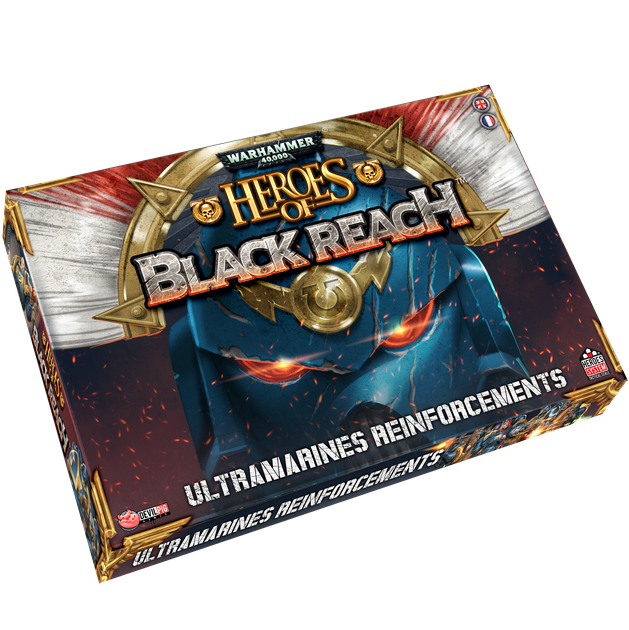 Heroes of Black Reach Ultramarine Reinforcements