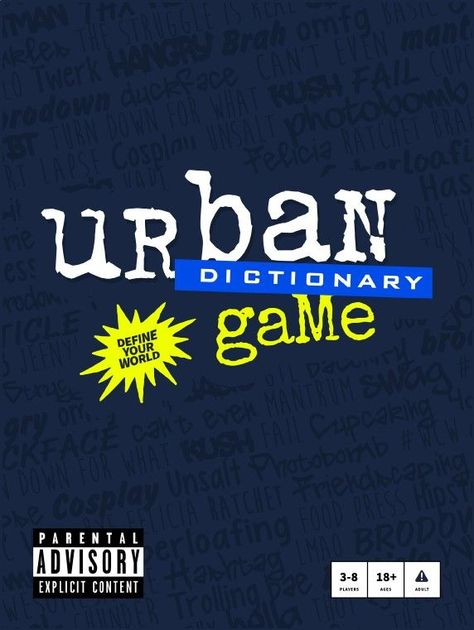 Urban Dictionary Game | Board Game | BoardGameGeek