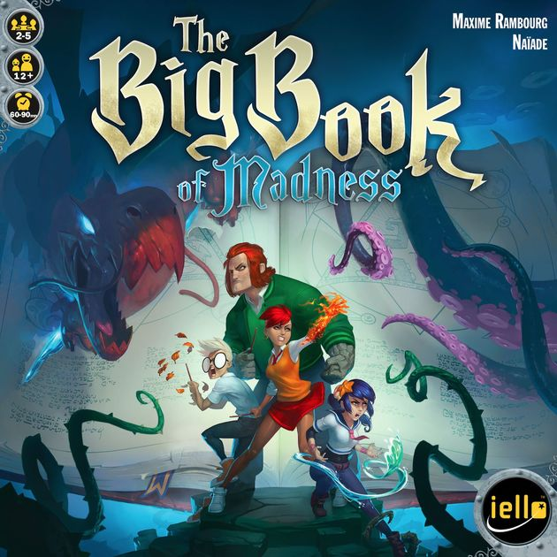 The Big Book Of Madness Board Game Boardgamegeek