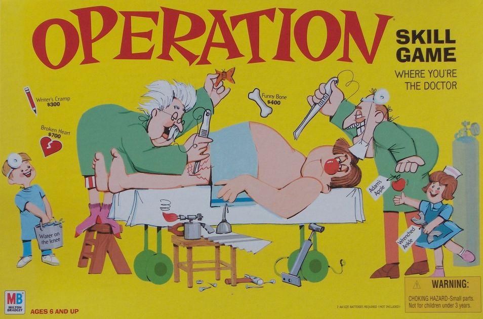 Operation Board Game Boardgamegeek