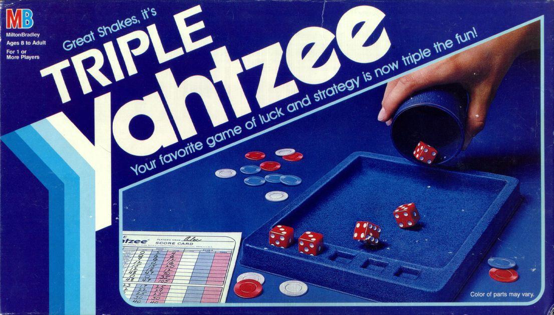 Triple Yahtzee | Image | BoardGameGeek