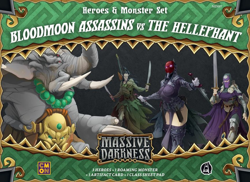 massive darkness heroes monster set bloodmoon assassins vs the