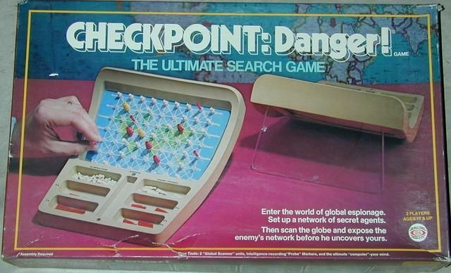 Checkpoint: Danger! | Board Game | BoardGameGeek