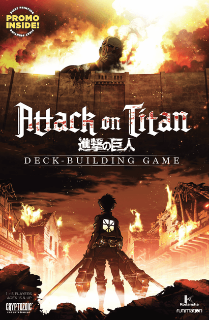 Attack on Titan: Deck-Building Game | Board Game | BoardGameGeek
