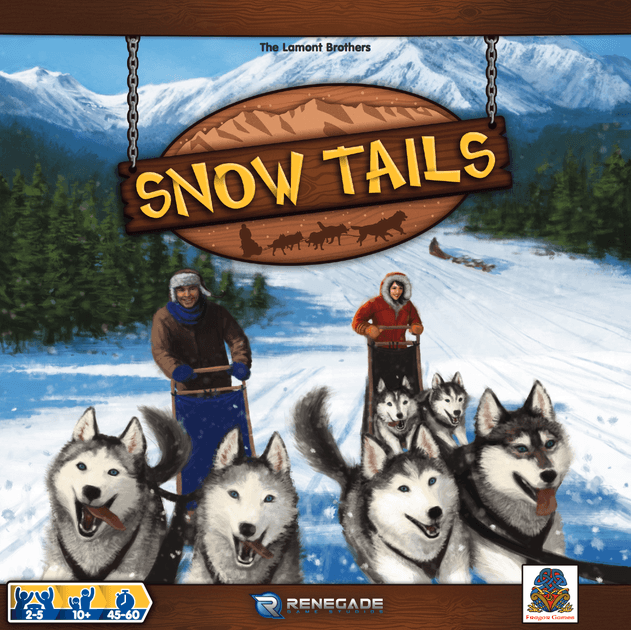 Snow Tails Board Game Boardgamegeek