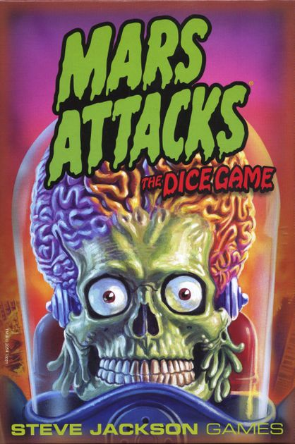 Image result for mars attacks dice game
