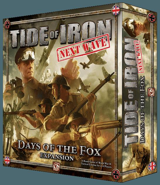 Days of the fox expansion jeu de société Tide of Iron