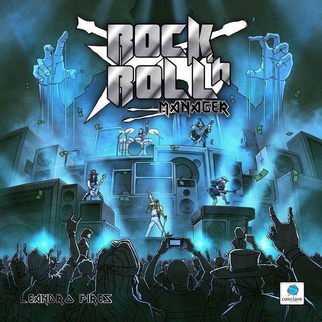 Rock And Roll Games >> Rock N Roll Manager Board Game Boardgamegeek