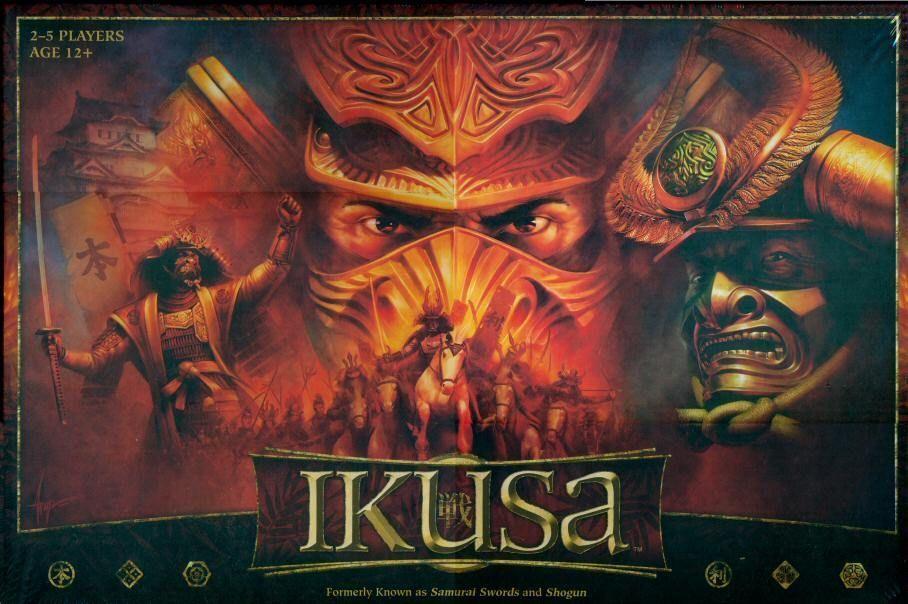 Ikusa | Board Game | BoardGame...