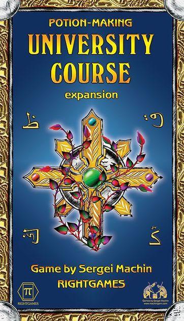 potion making university course board game boardgamegeek