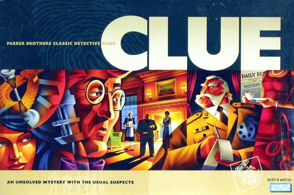 Clue Board Game Boardgamegeek