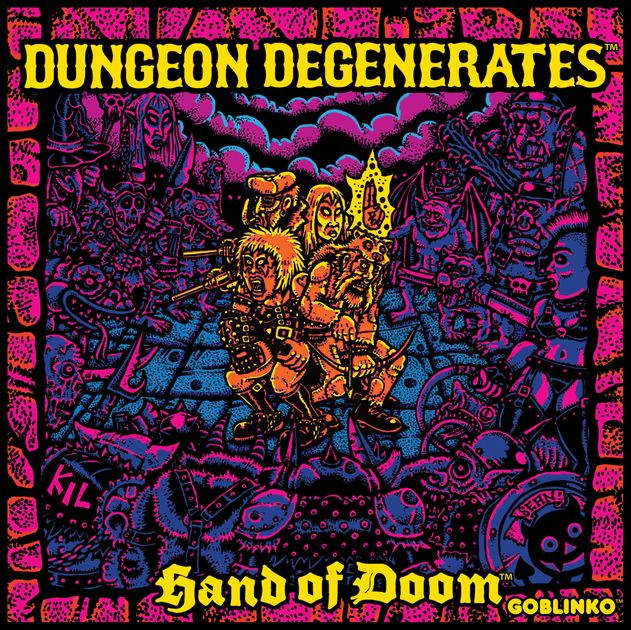 Dungeon Degenerates: Hand of Doom - Board Game Geek image