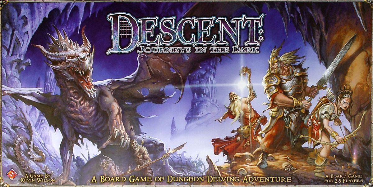 Descent journeys in the dark board game boardgamegeek - Dungeon gioco da tavolo ...