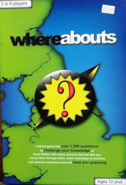 Whereabouts | Board Game | BoardGameGeek
